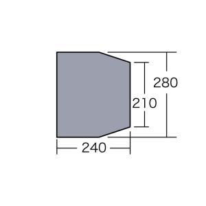 テント備品 マルチシート アルマディ6用 CAMPAL JAPAN 小川キャンパル アウトドア キャンプ用品|esheetpro