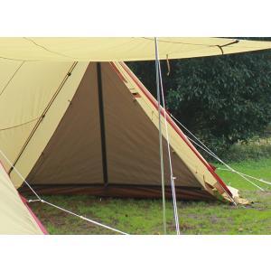 テント備品 ツインピルツフォークハーフインナー CAMPAL JAPAN 小川キャンパル アウトドア キャンプ用品|esheetpro