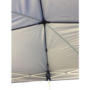 テント ワンタッチ タープテント 2.9m×2.9m EZ-UP DM29-07 半横幕付  送料無料 日除け 日よけ|esheetpro|04
