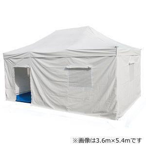 テント ワンタッチ 災害対策用多目的 2.4m×3.6m かんたんてんと3 DSTR2436W スチール&アルミ複合フレーム 送料無料 36%OFF|esheetpro