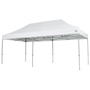 イベントテント アルミ製軽量フレーム 1.8m×3.6m CARAVAN DX-A1836 ワンタッチテント タープテント 頑丈プロ向け 簡単設営 日除け 日よけ|esheetpro