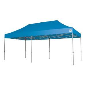 イベントテント アルミ製軽量フレーム 2.4m×4.8m CARAVAN DX-A2448 ワンタッチテント タープテント 頑丈プロ向け 簡単設営 日除け 日よけ|esheetpro