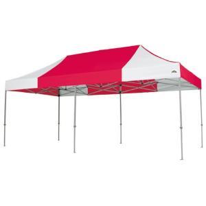 イベントテント アルミ製軽量フレーム 3m×6m CARAVAN DX-A3060 ワンタッチテント タープテント 頑丈プロ向け 簡単設営 日除け 日よけ|esheetpro