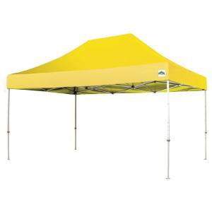 イベントテント スチール製フレーム 1.8m×2.7m CARAVAN DX-C1827 ワンタッチテント タープテント 頑丈プロ向け 簡単設営 日除け 日よけ|esheetpro