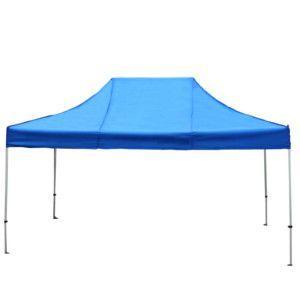 イベントテント スチール製フレーム 2.4m×3.6m CARAVAN DX-C2436 ワンタッチテント タープテント 頑丈プロ向け 簡単設営 日除け 日よけ|esheetpro