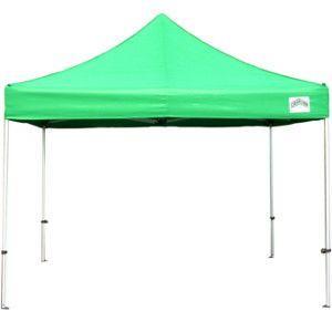 イベントテント スチール製フレーム 3m×3m CARAVAN DX-C3030 ワンタッチテント タープテント 頑丈プロ向け 簡単設営 日除け 日よけ|esheetpro