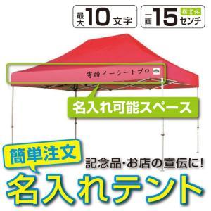 イベントテント スチール製フレーム 3m×4.5m CARAVAN DX-C3045 名入れ料込 ワンタッチテント タープテント 頑丈プロ向け 簡単設営 日除け 日よけ|esheetpro
