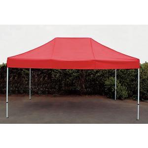 イベントテント スチール製フレーム 3m×4.5m CARAVAN DX-C3045 ワンタッチテント タープテント 頑丈プロ向け 簡単設営 日除け 日よけ|esheetpro|02