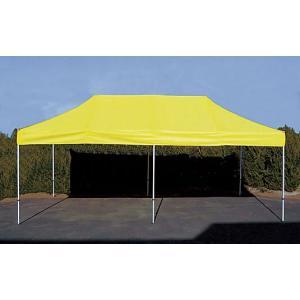 イベントテント ステンレス製フレーム 3m×6m CARAVAN DX-S3060 ワンタッチテント タープテント 頑丈プロ向け 簡単設営 日除け 日よけ|esheetpro|02