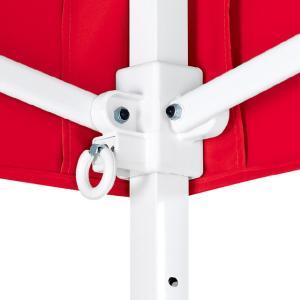 テント ワンタッチ タープテント 2.5m×2.5m EZ-UP DELUXE DX25 スチール製フレーム 名入れ料込 送料無料 頑丈プロ向け 簡単設置  日除け 日よけ esheetpro 03