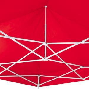 テント ワンタッチ タープテント 2.5m×2.5m EZ-UP DELUXE DX25 スチール製フレーム 名入れ料込 送料無料 頑丈プロ向け 簡単設置  日除け 日よけ esheetpro 06