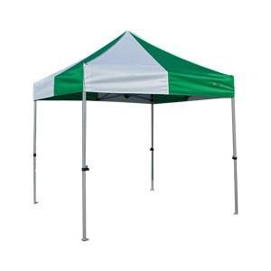 イベントテント アルミ・スチール複合 2.4m×2.4m かんたんてんと3 KA/3W ワンタッチテント タープテント 簡単設営 日除け 日よけ|esheetpro
