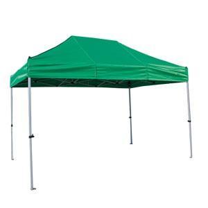 イベントテント アルミ・スチール複合 2.4m×3.6m かんたんてんと3 KA/4W ワンタッチテント タープテント 簡単設営 日除け 日よけ|esheetpro