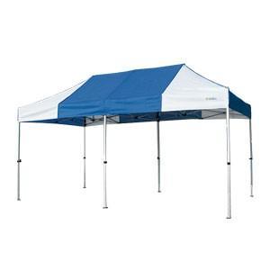 イベントテント アルミ・スチール複合 2.4m×4.8m かんたんてんと3 KA/5W ワンタッチテント タープテント 簡単設営 日除け 日よけ|esheetpro