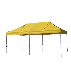 イベントテント アルミ・スチール複合 3m×6m かんたんてんと3 KA/8W ワンタッチテント タープテント 簡単設営 日除け 日よけ|esheetpro