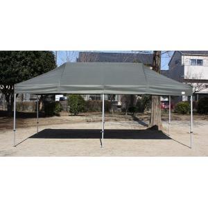 テント 3.0m×6.0m アルミ製軽量フレーム 柱角32mm CARAVAN PA3060 ワンタッチ タープテント 送料無料 日除け 日よけ イベント|esheetpro