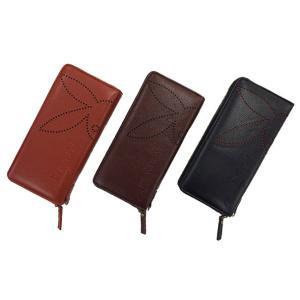 長財布 男女兼用 PLAYBOY 合成皮革 パンチング ラウンド財布 メンズ レディース 長さ約20cm|esheetpro