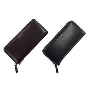 長財布 男女兼用 PLAYBOY 合成皮革 べージー ラウンド財布 メンズ レディース 長さ約20cm|esheetpro