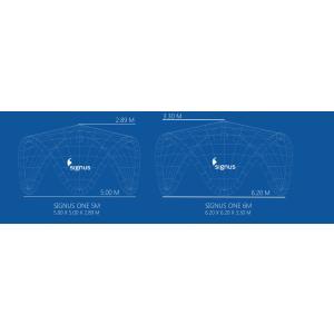 エアーテント signus ONE シックナスワン インフレータブル 膨張式 6m×6m イベントテント|esheetpro|02