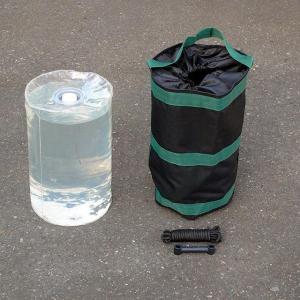 テント用 水袋セット ウエイト 重り ワンタッチ式テント用 組立式パイプテント用 37%OFF|esheetpro