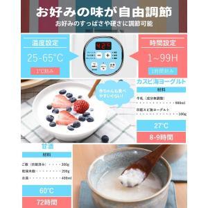 ヨーグルトメーカー Keenstone 発酵食メーカー 飲むヨーグルト 温度調整可能 牛乳パック対応 r1ヨーグルト 甘酒・カスピ海・ギリシ|eshimi404