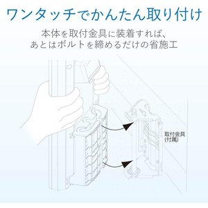 DXアンテナ 地上デジタルアンテナ UHF平面 (20素子相当) 垂直偏波専用 強・中電界地用 ホワイト UAH201V|eshimi404