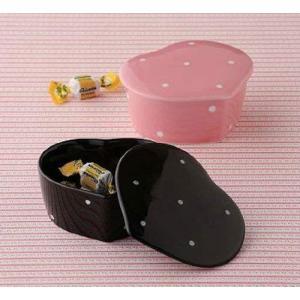 西海陶器 Polkadots 水玉 ペア蓋物 52371 eshimi404