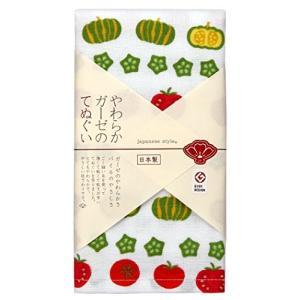 日繊商工 japanese style 夏野菜 てぬぐい JS-5006|eshimi404