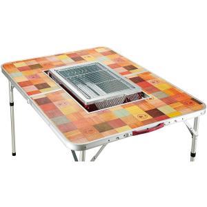 コールマン(Coleman) テーブル ナチュラルモザイクBBQテーブル 110プラス 2000026760|eshimi404