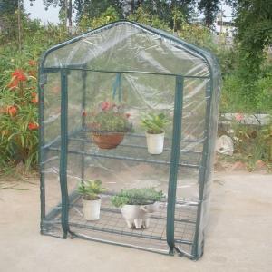 温室ビニールハウス グリーンカバー PVC グリーンハウス 家庭用 園芸 ガーデン 花園温室 替えカバー 屋外 ベランダ 園芸用品(アイアン|eshimi404