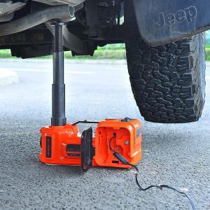 E-HEELPフロアジャッキ電動油圧ジャッキ 5T 12V セダンとSUVに適合 電気自動車ジャッキ タイヤ交換用ジャッキ Ledライト付|eshimi404