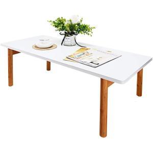 机 テーブル 折りたたみ ローテーブル 和風 ダイニング/リビングテーブル/センターテーブル 幅10...