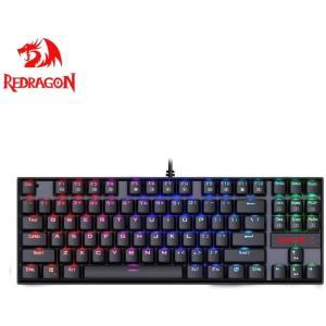 Redragon K552 メカニカル式ゲーミングキーボード 青軸防水機能付き LED RGBバックライトモード USB接続有線英語配列87|eshimi404