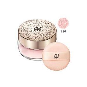 コスメデコルテ AQ MW フェイスパウダー #80(glow pink) 20g <パフ付き> COSME DECORTE