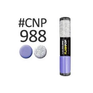 LA COLORS フラッシュポップ ネイルエナメル #CNP988 9ml LAカラーズ 日本ランウエル|eshop-earth