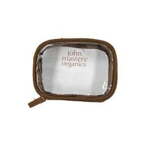 ジョンマスターオーガニック クリアポーチ john masters organics|eshop-earth