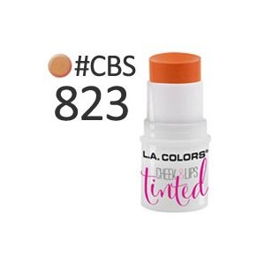 L.A.COLORS チーク&リップティント #CBS823 foxy 3.5gは、リップにも使える...