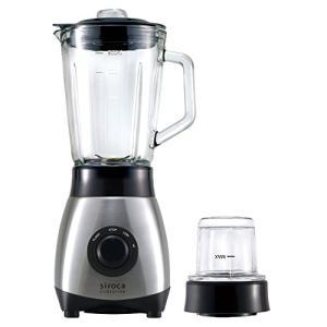 siroca ミル付きミキサー SJM-180G[氷も丸ごと砕ける/ガラス製ボトル/容量800ml] eshop-smart-market