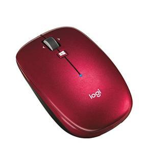 ロジクール ワイヤレスマウス 無線 薄型 マウス M557RD Bluetooth 6ボタン M557 レッド eshop-smart-market