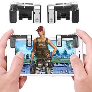 PUBG Mobile 荒野行動 コントローラー 手触りよい pubg モバイル コントローラー ゲームハンドル 高感度 高精度 感 eshop-smart-market