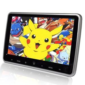 LOSKAヘッドレストモニター 高画質対応 10.1インチリアモニター WSVGA1024*600pixelの高画質 映像入力対応/IRヘッドホ eshop-smart-market