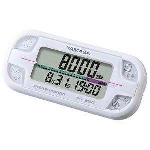 山佐時計計器 万歩計 アクティブ万歩 ホワイト TH-300W eshop-smart-market