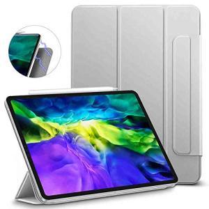 ESR iPad Pro 11 2020 ケース 磁気吸着 三つ折りスタンド リバウンドマグネティッ...