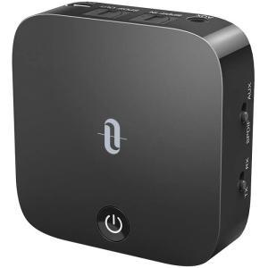 TaoTronics Bluetooth トランスミッター レシーバー aptx-LL 低延遅 Bl...