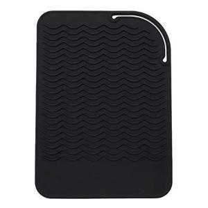 FChome耐熱シリコンマットストレートヘアアイロン、カーリングアイロン、フラットアイロン、旅行マット、ホッ eshop-smart-market