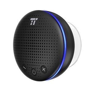 TaoTronics Bluetooth スピーカー 防水 IPX7 風呂 LEDライト付 マイク内...
