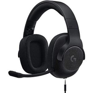 Logicool G ゲーミングヘッドセット 有線 G433BK 高音質 7.1ch Dolby 3.5mm usb 軽量 ノイズキャンセリング 単一性 着脱式|eshop-smart-market