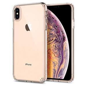 Spigen スマホケース iPhone XS Max ケース 対応 全面クリア 耐衝撃 米軍MIL...