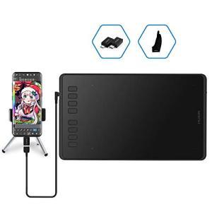 Huion H950P ペンタブ 8.75.4インチ Android6.0以上対応 携帯・スマホで使えるペンタブ 8192筆圧 充電不要ペン OTGアダプ|eshop-smart-market