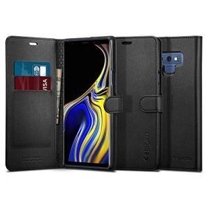 Spigen スマホケース Galaxy Note9 ケース SC-01L SCV40 対応 手帳型...
